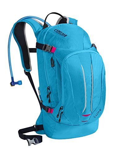 CamelBak Women's 2016 L.U.X.E. Hydration Pack, Atomic Blue/Black Iris ()