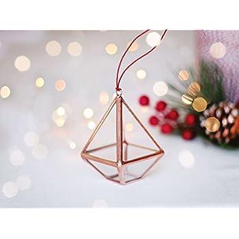 geometric christmas ornaments