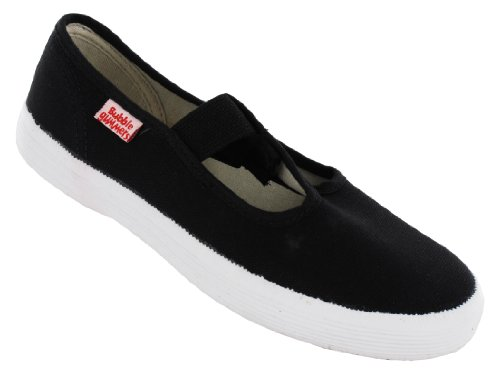 BECK Canvas Lino Zapatos Zapatillas Basic Negro 300 Negro - negro