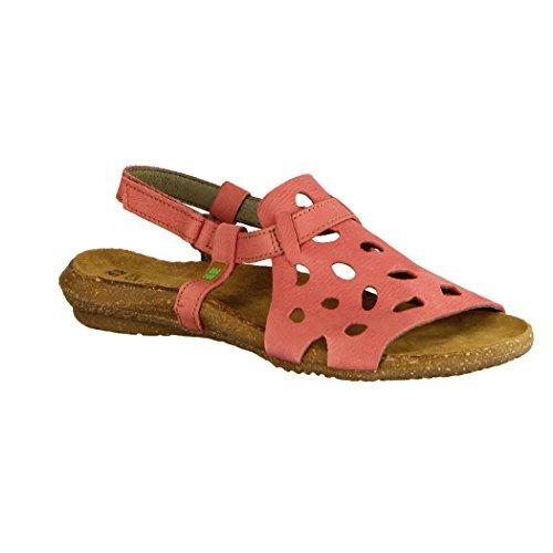 Wakataua N5064 Velcro Sandaalit Vaaleanpunainen Nainen Sandalo Miellyttävä 6EnrqwUExS