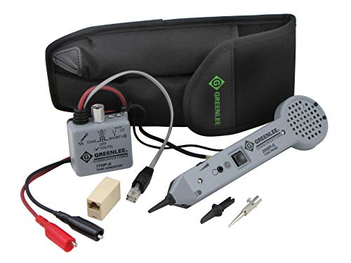 TEMPO Communications 701K-G Tone and Probe Kit - Professional Tone Tracing Kit - Includes Tone Probe and Tone Generator (Legacy Model)