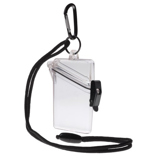 (Witz 00411-Clear See it Safe Waterproof ID/Badge Holder Case, Clear)