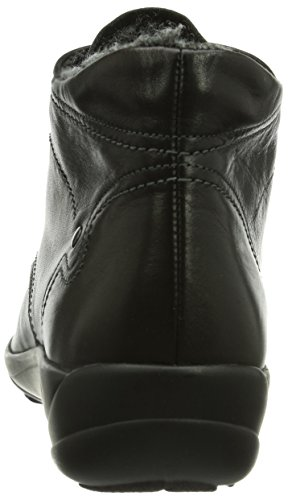 Bootees Short Birgit 001 Boots Black And shaft Women's Warm Schwarz lined Semler 8qpxwx