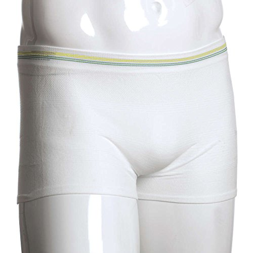 MediChoice Incontinence Underwear, Holds Liners and Pads in Place, Seamless Knit, Mesh, Polyester Spandex, Large to XL (Pack of 5)