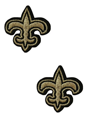New Orleans Saints Embroidered Football - 2