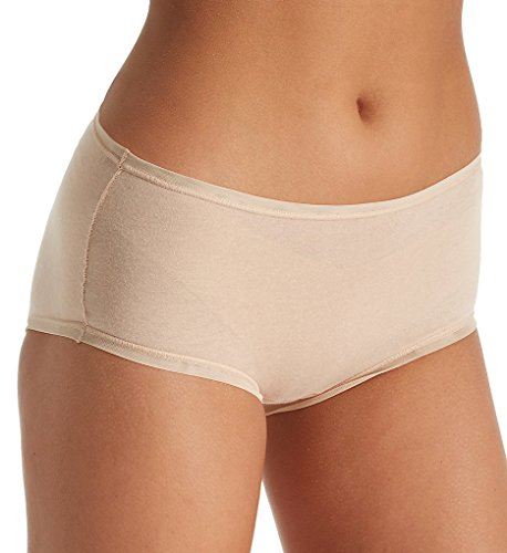 Fine Lines Pure Cotton Full Coverage Brief, M, Skin