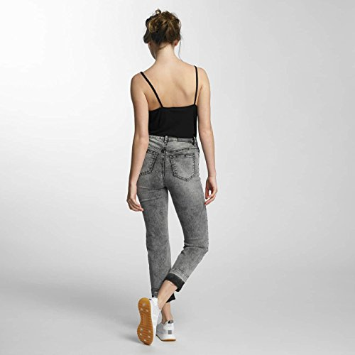Donna Waisted High Jeans Nero Nmtaylor May Noisy fFqAS5wx