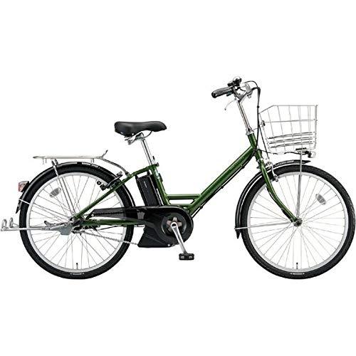 BRIDGESTONE(ブリヂストン) 2018年モデル アシスタユニプレミア A4PC38 24インチ 電動アシスト自転車 専用充電器付 B07HWVJK7N  P.Xトラッドオリーブ