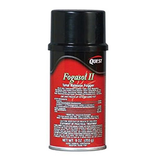 QuestVapco 437001QC Fogasol II Total Release Fogger, Case of 12 - 9 oz by QuestVapco