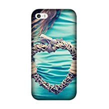 Perfect Ultra Thin hands heart plexus t-shirt Soft TPU Case Cover for Iphone 5C Design By [Andrea Novak]