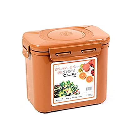 e-jen Kimchi Container Probiotic Fermentation with Inner Vacuum Lid (0.45 Gal/1.7L) EJ-S1.7