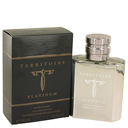 Territoire Platinum by YZY Eau de Parfum For Men's 3.4 FL oz 100 ML