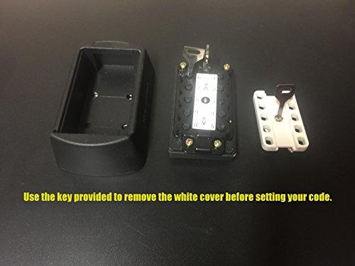 [해외]! Knight Box (TM) 누름 단추 잠금 상자, 조합 키 보관 상자, 키 안전, 10 자리 누름 단추 조합이있는 벽면 키 잠금 상자/SALE! Knight Box (TM) Push Button Lock Box, Combination Key Storage LOCK Box, Key Safe, Wall Mount Key Lock Box with ...