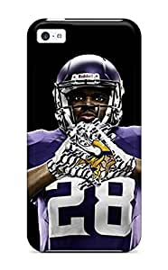 New Style ZippyDoritEduard Hard Case Cover For Iphone 5c- Adrian Peterson Football