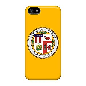 New Arrival Case Cover With FrXXIsv4769ujEtG Design For Iphone 5/5s- Los Angeles Flag