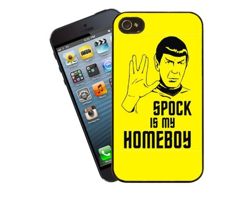 Homeboy Gifts (Eclipse Gift Ideas Spock Homeboy Phone Case, Design 2 - For Apple iPhone 5 / 5s -)