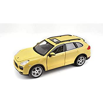 Bburago 1:24 Scale Porsche Cayenne Turbo Diecast Vehicle (Colors May Vary)