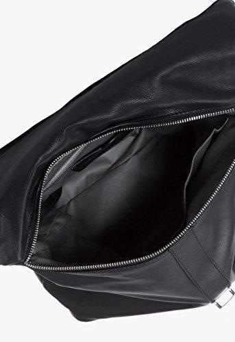 BREE Stockholm - Bolso de asas de Piel Lisa para mujer 32 cm x 40 cm x 13 cm (B x H x T) negro