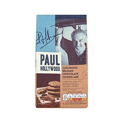 Paul Hollywood Luxury Belgian Chocolate Cookie Mix 225g - Pack of 6 by Paul Hollywood