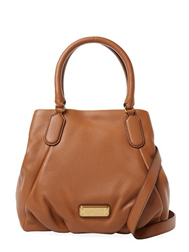 Marc by Marc Jacobs New Q Fran Maple Tan Leather Satchel Tote (Marc By Marc Jacobs New Q Fran Satchel)