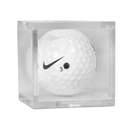 Clear Golf Ball Holder Display Case - Single