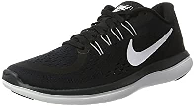 Nike Women's Wmns Flex 2017 RN, BLACK/WHITE-ANTHRACITE, 5.5 US