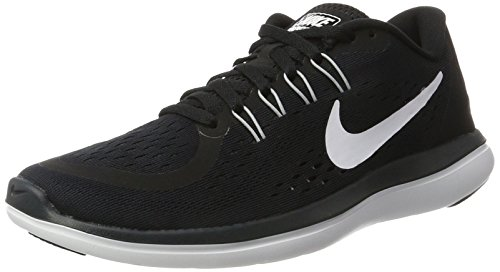 Sense Wolf 001 Running RN Nero Sportive Donna Black Nike Anthracite White Shoe Free Indoor Scarpe Women's Grey nxawHf