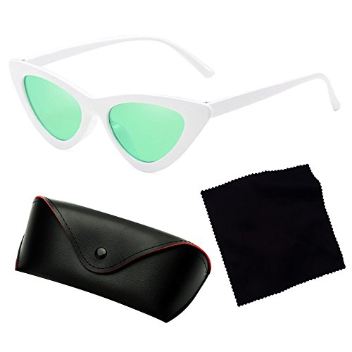 New sol Gafas de Juleya Small Eye sol Cat Box sol de Gafas transparentes Triangle de Gafas C13 Y51xtw