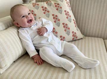 1 Month 0-24 Monate Schlafstrampler blau Blaue Sterne Newborn Magnet Mouse Baby Jungen