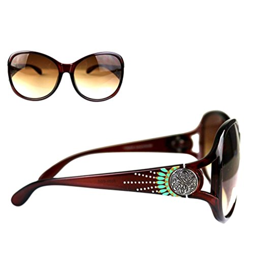 SGS-4608 Montana West Concho Collection Western Woman Sunglasses UV 400 - Concho Collection