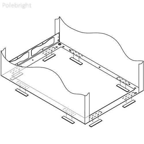 """MV-ISO-36 Rack Isolation Kit (36"""" Depth) - Polebright update"""