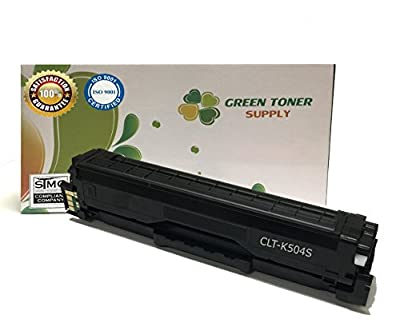 GTS (TM) New Compatible [Samsung CLT-K504S] Black and Color LaserJet Toner Cartridges for CLP-415NW, CLX-4195FW, SL-C1810W, SL-C1860FW