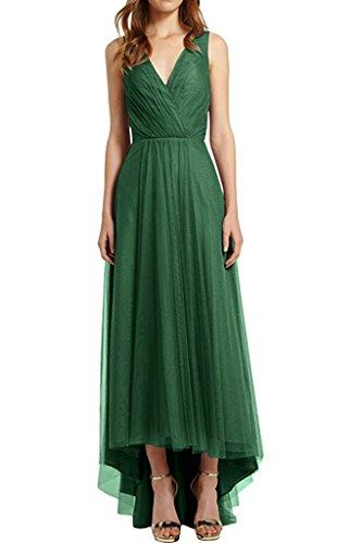 Tuell Olive Hi Gruen lo Ausschnitt Blau Royal Abendkleider Abschlussballkleider Rock Damen V Elegant Abiballkleider Charmant wxqaYOBq