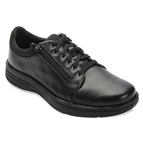 Trok Schoenen Mens Dakota Synthetische Schoenen Zwart Kalf