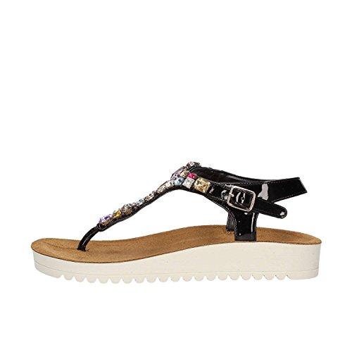 Grunland SA1698 Flip Flops Women Nero
