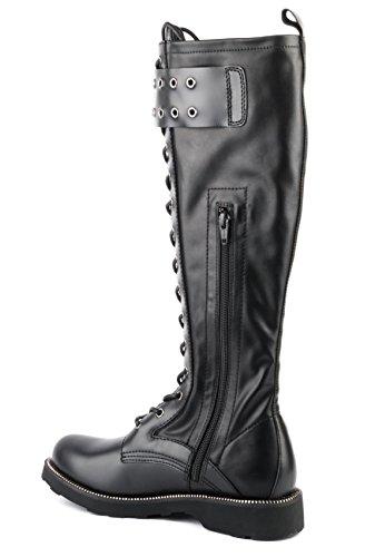Chaussures Femme Cult Boot Cle103153 Brush-veg Lth Noir Ai17