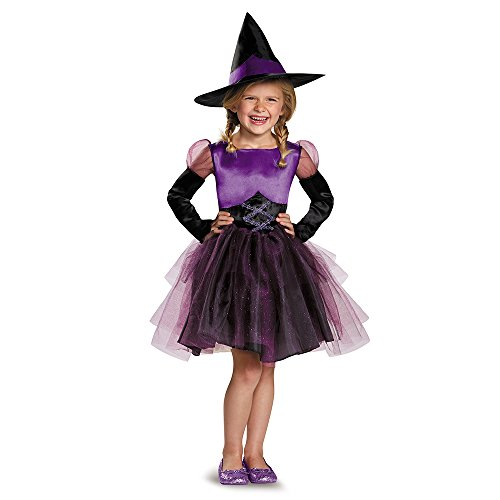Original Costumes For Toddlers (Witch Toddler Tutu Costume, Medium (3T-4T))