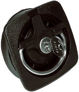T-H Marine NRL-1-DP Recessed Rotating Lid Lock, Non Locking - (Deck Lid Latch)