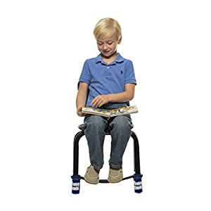Bouncy Bands For Elementary School Chair (Blue) ADHD Foot Fidgets