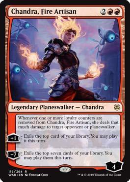 (Magic: The Gathering - Chandra, Fire Artisan - War of The)