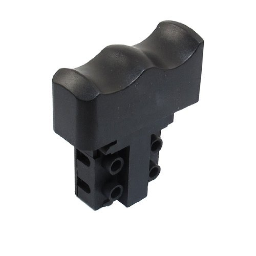 DealMux a12092200ux0293 AC 250V 6 Amp Momentary DPST Electric Power Tool Control Trigger Switch