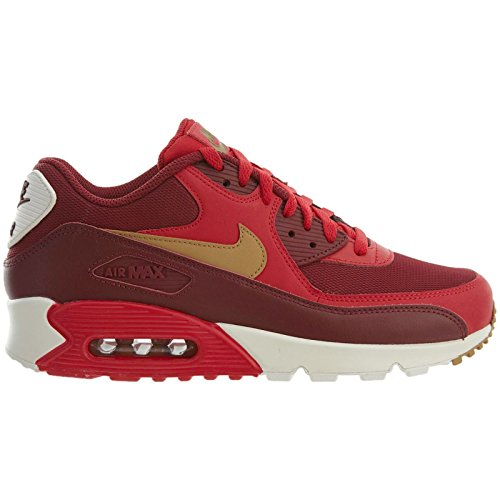 timeless design 50f25 8567b ... czech nike mens air max 90 essential running shoes game red elemental  gold team red 10592