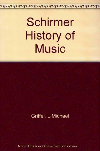 Schirmer History of Music