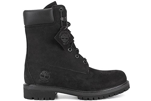 Timberland 8 Premium Mens Boot, Negro (black Nubuck), 46 D(M) EU/11.5 D(M) UK