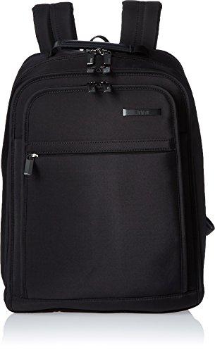 Hartmann Slim Backpack, Deep Black, One Size by Hartmann
