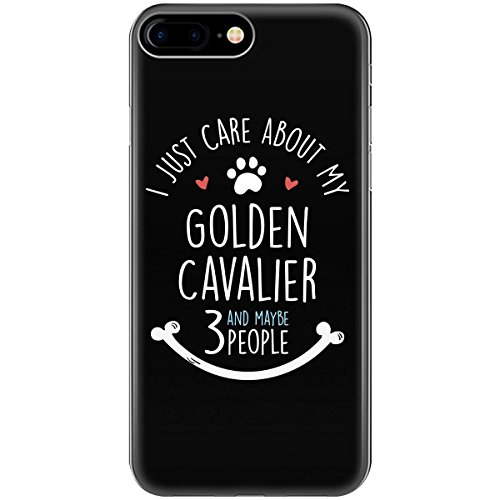 I Just Care About My Golden Cavalier Puppy Dog Gift - Phone Case Fits Iphone 6 6s 7 8