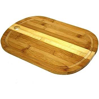 11.5 x 8.2 x 0.5 Simply Bamboo CBLM Medium Laguna Bamboo Cutting Board