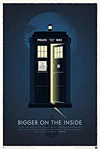 Doctor Who 50th Anniversary Art Print Poster 27 x 40in