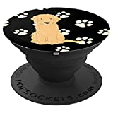 Cute Dog PopSockets - Golden Doodle - PopSockets Grip and Stand for Phones and Tablets