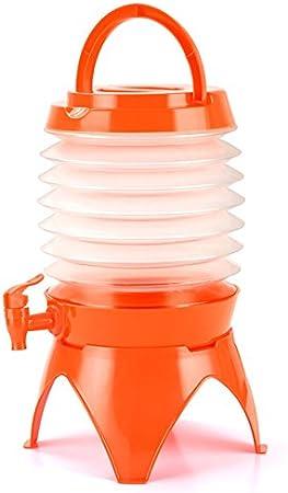 Distributeur de Boisson Retractable Fontaine à Eau Pliable avec Anse Robinet